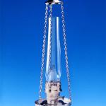 Aladdin Chain Hanger Lamp Silcrom wo shade