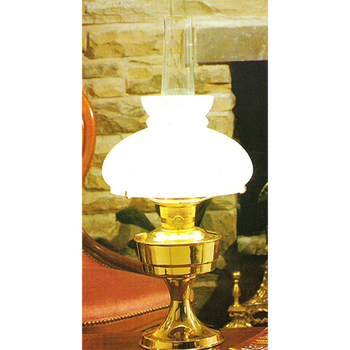 Aladdin shop aladdin electric table lamp brass cw opal shade aloadofball Images