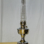 Aladdin Electric Table Lamp Silcrom (solid brass) no Shade